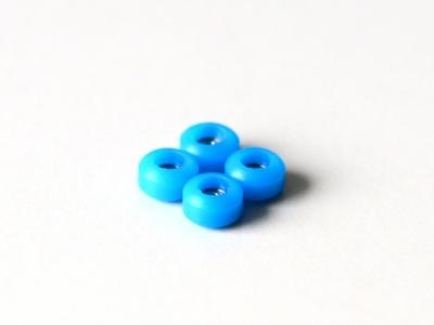2KR bearing wheels blue PRO