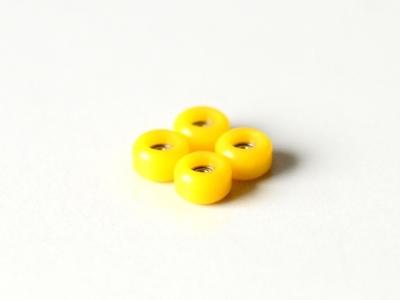 2KR bearing wheels yellow PRO
