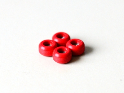 2KR bearing wheels red PRO