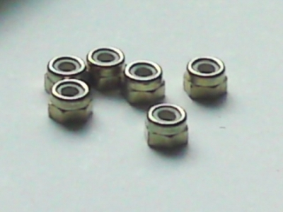 Lock-nuts 6 pcs